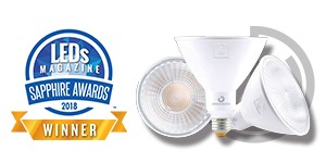 GREEN CREATIVE Wins Sapphire Award for Commercial-Quality SSL Lamp Design