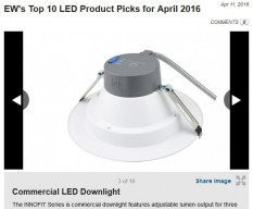 EW Top 10 LEDs April IT