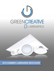 GREEN CREATIVE 2016 Summer Luminaires Brochure