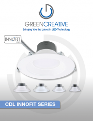 GREEN CREATIVE COMMERCIAL DOWNLIGHT INNOFIT SERIES Leaflet