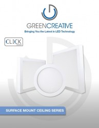 SURFACE MOUNT CEILING SERIES LED LEAFLET