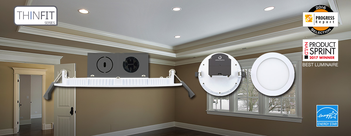 THINFIT Series New Construction Downlights