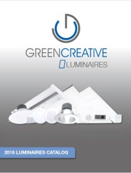 GREEN CREATIVE 2018 LUMINAIRES CATALOG